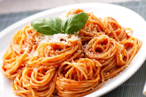 Mini spaghetti Bolognaise